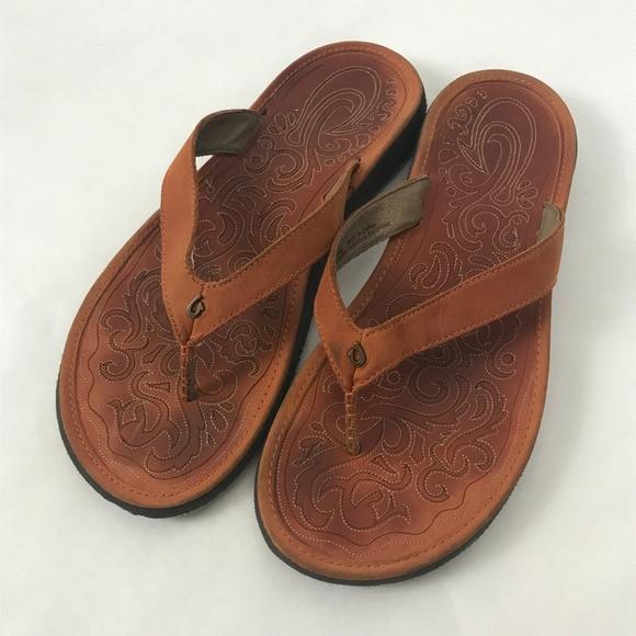 OLUKAI Womens Paniolo Thong Sandals